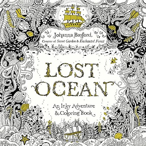 Gift Shop Books :: Coloring Books :: Lost Ocean: An Inky Adventure And Coloring  Book - Paracay.com Wholesale Books