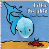 Fish, Sealife, Aquatic Creatures :Little Dolphin: Finger Puppet Book