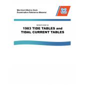 Mariner Training :MMDREF Tide Tables & Tidal Current Tables 1983