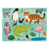 Puzzle to Go: Animals of The World