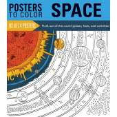 Coloring Books :Posters to Color: Space
