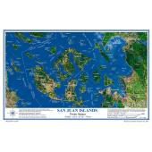 Placemat Charts :SAN JUAN ISLANDS Placemat