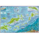 British Virgin Islands DIVE MAP & ADVENTURE GUIDE