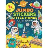 Stickers & Magnets :Jumbo Stickers for Little Hands: Outer Space