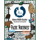 Pacific Northwest :Pacific Northwest Educational Coloring Book