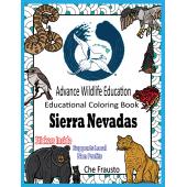 Coloring Books :Sierra Nevadas Educational Coloring Book