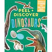 Activity Books: Dinos :Peel + Discover: Dinosaurs
