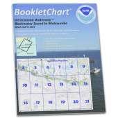 Gulf Coast Charts :NOAA BookletChart 11464: Intracoastal Waterway Blackwater Sound to Matecumbe
