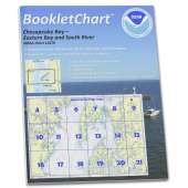 Atlantic Coast Charts :NOAA BookletChart 12270: Chesapeake Bay Eastern Bay and South River; Selby Bay