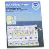 Atlantic Coast Charts :NOAA BookletChart 12324: Intracoastal Waterway Sandy Hook to Little Egg Harbor