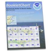 Atlantic Coast Charts :NOAA BookletChart 13274: Portsmouth Harbor to Boston Harbor; Merrimack River Extension
