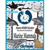 Marine Mammals :Marine Mammals Educational Coloring Book