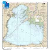 Great Lakes Charts :Large Format NOAA Chart 14850: Lake St. Clair