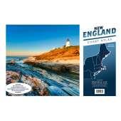Atlantic Coast Charts :New England Chart Atlas (12x18 spiral-bound)