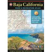 Mexico, Central and South America Travel & Recreation :Baja California Road & Recreation Atlas