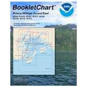 Alaska Charts :Prince William Sound BookletChart (East)