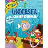 Activity Books: Aquarium :Crayola Undersea Sticker by Number