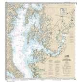 Atlantic Coast Charts :NOAA Chart 12263: Chesapeake Bay Cove Point to Sandy Point