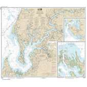 Atlantic Coast Charts :NOAA Chart 12272: Chester River; Kent Island Narrows: Rock Hall Harbor and Swan Creek