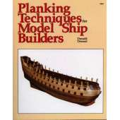 Modeling & Woodworking :Planking Techniques for Model Ship Builders