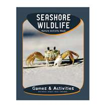 Ocean & Seashore, Seashore Wildlife Nature Activity Book (Grades 3-5)