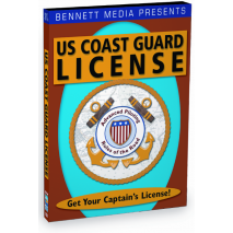 Study Aids, Coast Guard License:  Advanced Piloting & Rules of the Road (DVD)