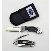 Myerchin Rigging Knives, Myerchin BF377P Gen 2, Black G10 Handle, Crew [FOLDING BLADE]