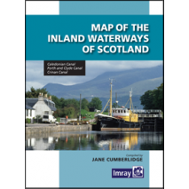 Imray Guides :Map of the Inland Waterways of Scotland, 2nd Ed.