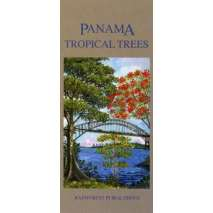 Tree, Plant & Flower Identification Guides, Panama: Tropical Trees (Folding Pocket Guide)