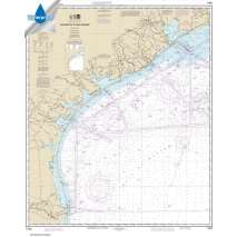 Waterproof NOAA Charts, Waterproof NOAA Chart 11300: Galveston to Rio Grande