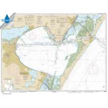 Waterproof NOAA Charts, Waterproof NOAA Chart 11309: Corpus Christi Bay