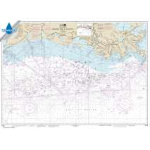 Waterproof NOAA Charts, Waterproof NOAA Chart 11340: Mississippi River to Galveston