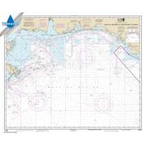Waterproof NOAA Charts, Waterproof NOAA Chart 11360: Cape St. George to Mississippi Passes