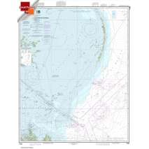 Small Format NOAA Charts, Small Format NOAA Chart 11363: Chandeleur and Breton Sounds