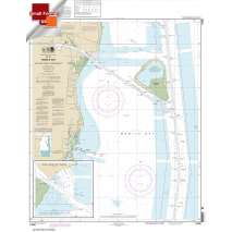 Small Format NOAA Charts, Small Format NOAA Chart 11380: Mobile Bay East Fowl River to Deer River Pt; Mobile Middle Bay Terminal