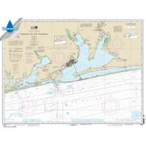 Waterproof NOAA Charts, Waterproof NOAA Chart 11382: Pensacola Bay and approaches