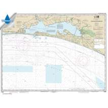 Waterproof NOAA Charts, Waterproof NOAA Chart 11388: Choctawhatchee Bay
