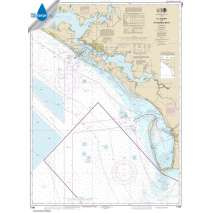 Waterproof NOAA Charts, Waterproof NOAA Chart 11389: St Joseph and St Andrew Bays
