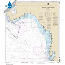 Waterproof NOAA Charts, Waterproof NOAA Chart 11400: Tampa Bay to Cape San Blas