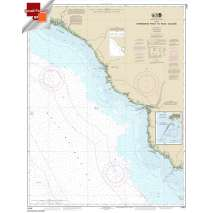 Small Format NOAA Charts, Small Format NOAA Chart 11407: Horseshoe Point to Rock Islands;Horseshoe Beach