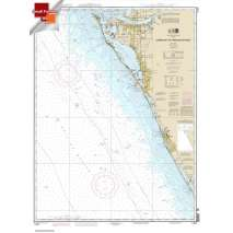 Small Format NOAA Charts, Small Format NOAA Chart 11424: Lemon Bay to Passage Key Inlet
