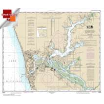 Small Format NOAA Charts, Small Format NOAA Chart 14933: Grand Haven: including Spring Lake and Lower Grand River