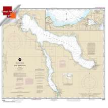 Small Format NOAA Charts, Small Format NOAA Chart 14942: Lake Charlevoix;Charlevoix: South Point to Round Lake