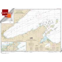 Small Format NOAA Charts, Small Format NOAA Chart 14966: Little Girls Point to Silver Bay: including Duluth and Apostle Islands;Cornucopia Harbor;Port Wing Harbor;Knife River Harbor;Two Harbors