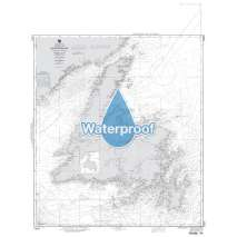 Region 1 - North America, Waterproof NGA Chart 14024: Island of Newfoundland