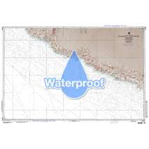 Region 2 - Central, South America, Waterproof NGA Chart 21020: Manzanillo to Acapulco Mexico