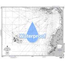 Region 2 - Central, South America, Waterproof NGA Chart 21036: Golfo Dulce to Bahia de Paita
