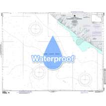 Region 2 - Central, South America, Waterproof NGA Chart 21490: Approaches to Champerico