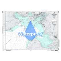 Region 2 - Central, South America, Waterproof NGA Chart 21521: Golfo de Fonseca