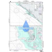 Region 2 - Central, South America, Waterproof NGA Chart 21525: Corinto and Approaches